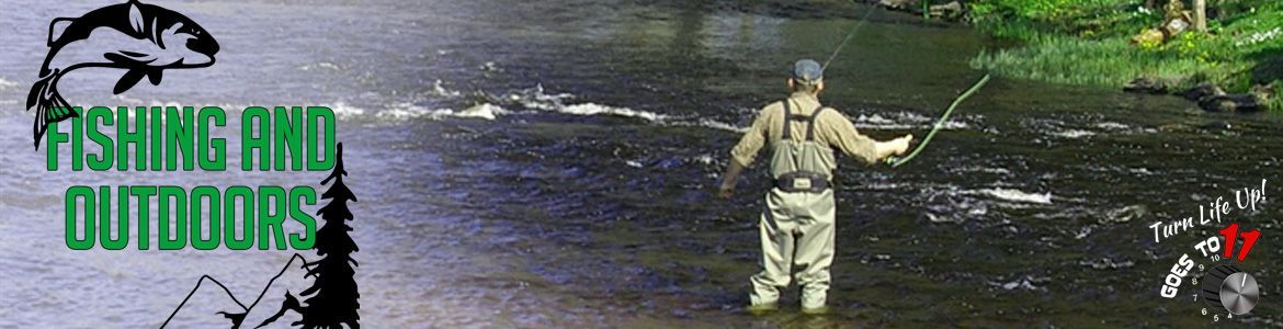 Fishing and Outdoors online store header image